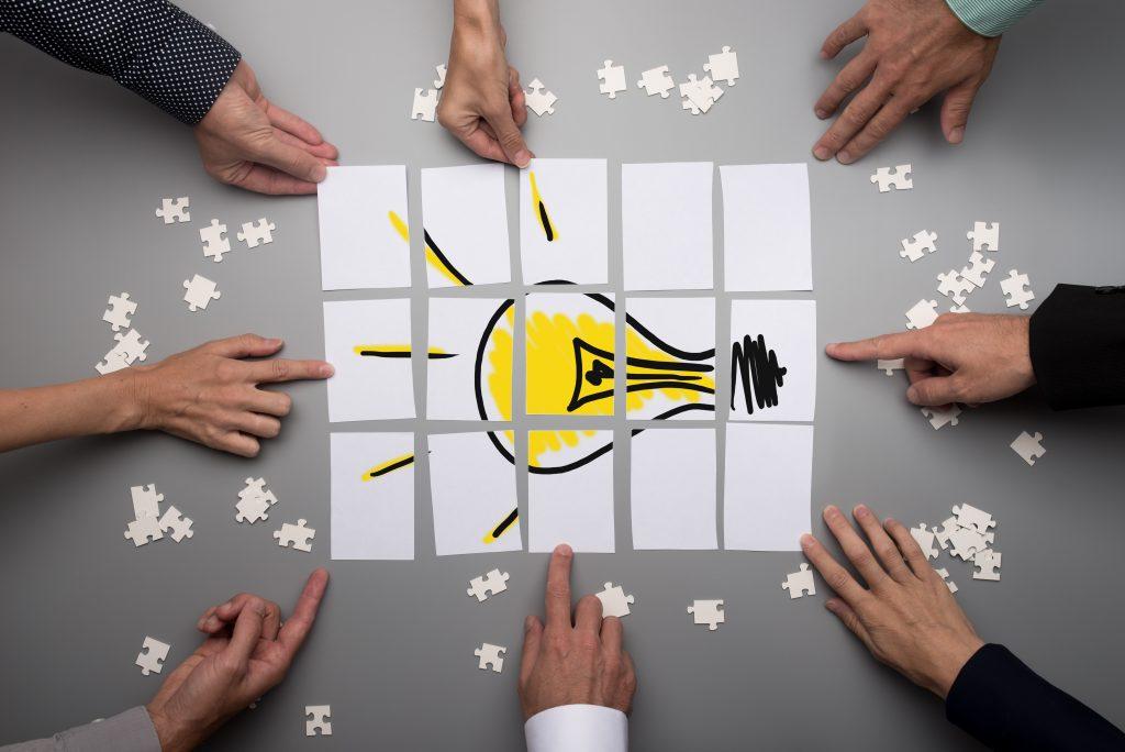 Con Design Thinking nacen ideas innovadoras y disruptivas.