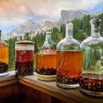 Elaboración de licores y bebidas destiladas