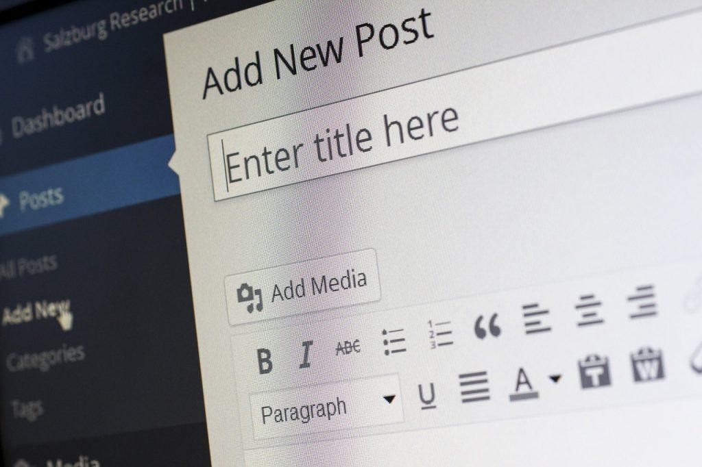 Wordpress es uno de los sistemas de gestión de contenidos más utilizados por los bloggers.