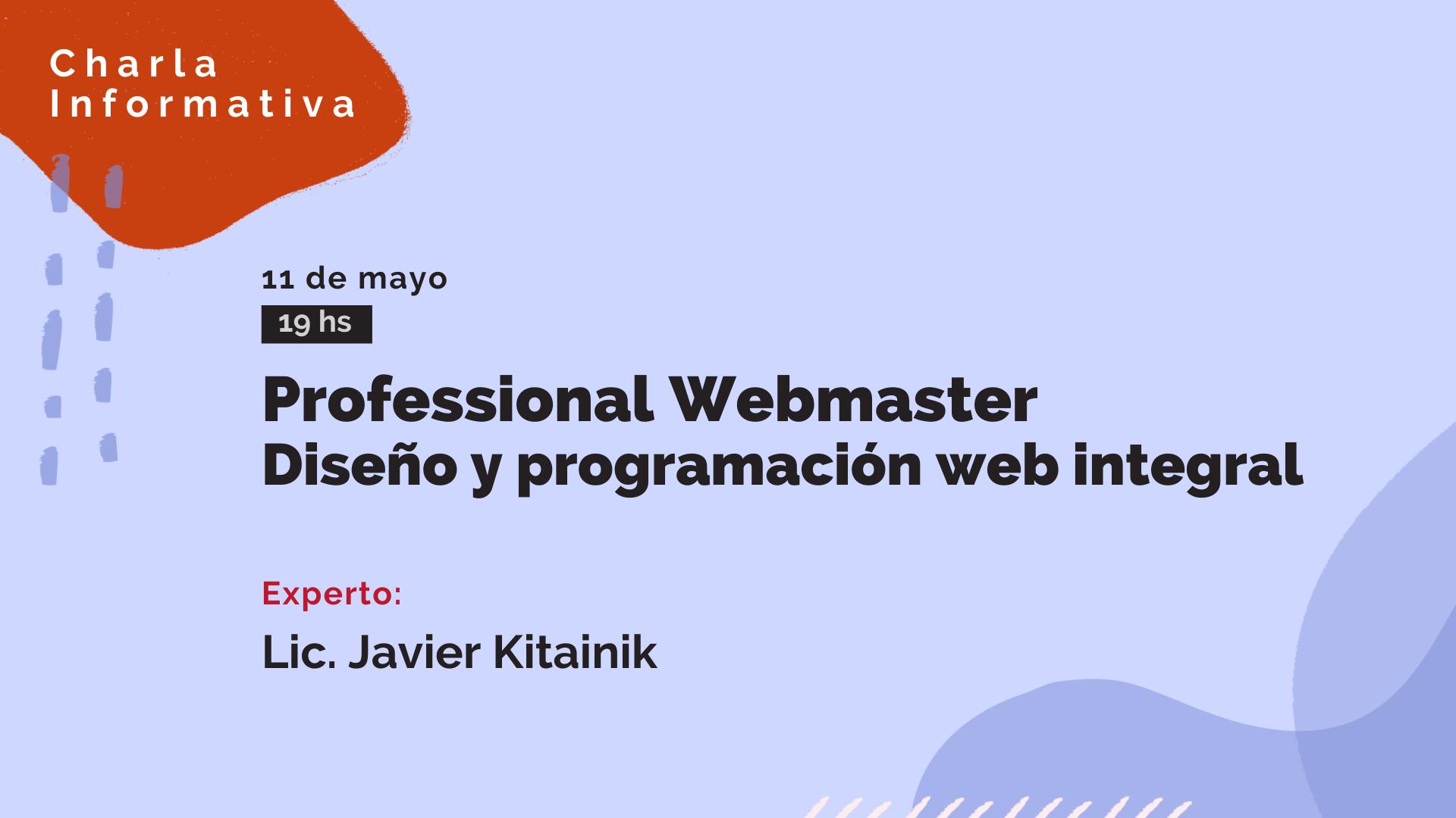 Charla informativa_Professional webmaster