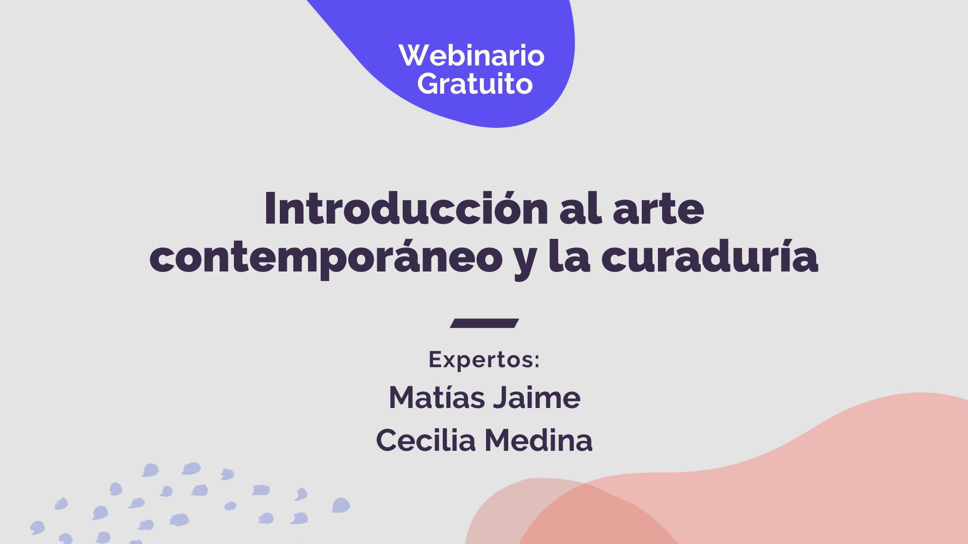 Introducción al arte contemporáneo y la curaduría