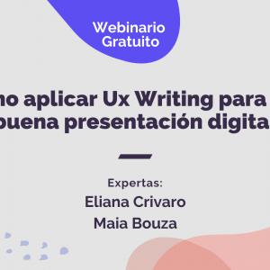 Webinario UX writing