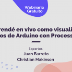 Aprendé en vivo como visualizar datos de Arduino con ProcessingAprendé en vivo como visualizar datos de Arduino con Processing